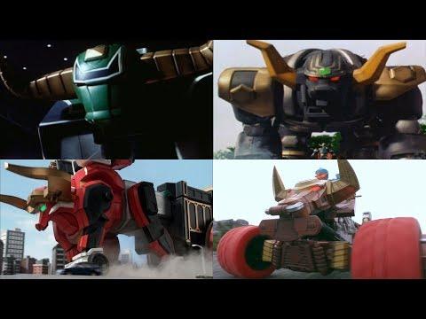 Power Rangers summon the Bull Zords | Zeo - Ninja Steel | Power Rangers Official