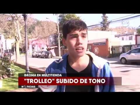 Joven realizó broma subida de tono en multitienda de Concepción