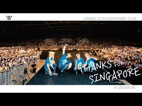 WINNER - EVERYWHERETOUR BACKSTAGE in SINGAPORE