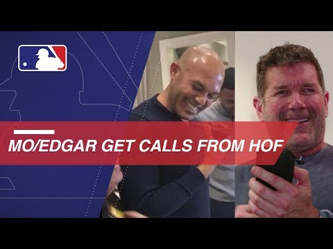 Video: The Hall of Fame comes calling for Mo and Edgar