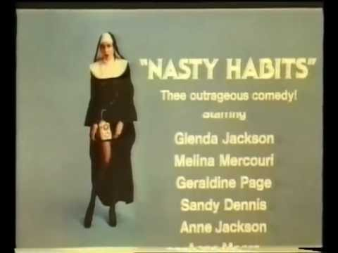Nasty Habits — Movie Trailer 1977 — Nunsploitation Comedy Spoof Of Watergate Scandal