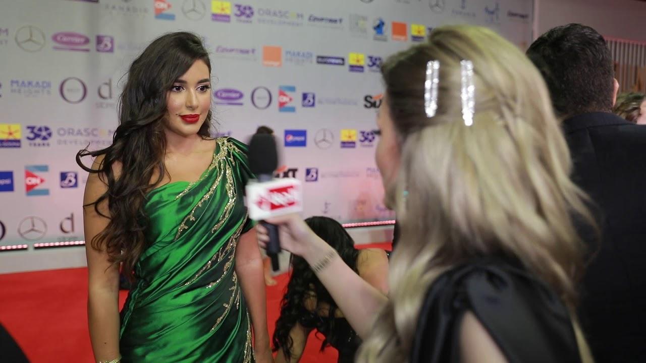 عين - الفنانة ياسمين صابري من مهرجان الجونة: بجهز لدوري بـ فيلم ومسلسل جديد