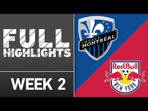 Video: HIGHLIGHTS: Montreal Impact vs. New York Red Bulls | March 12, 2016