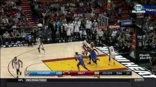 December 27, 2016 - ESPN - Game 32 Miami Heat Vs Oklahoma City Thunder - Loss (10-22)(Sportscenter)