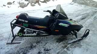 6. 1998 Arctic Cat Cougar 550 Deluxe For Sale Parts Only Not Whole Machine