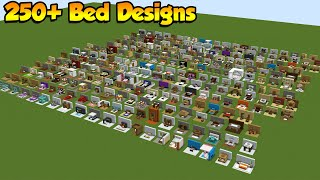 200+ MINECRAFT BED DESIGNS & BUILD HACKS / 1.16 Tutorial