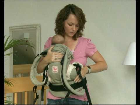 How to Use the Manduca Baby Carrier in Front Carry Position with a newborn or infant