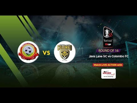 Live Stream!!  Colombo Vs Java Lane   1-0  18'Minute  SriLanka