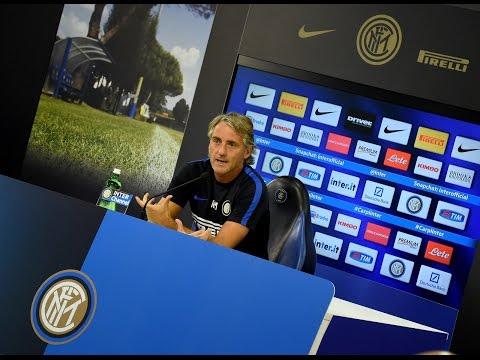 intervista mancini prima di atalanta - inter