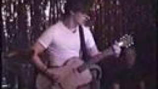 The White Stripes 2001 Houston Amazing Slide Guitar!