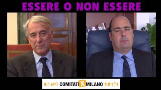 Intervista doppia tra Giuliano Pisapia e Nicola Zingaretti