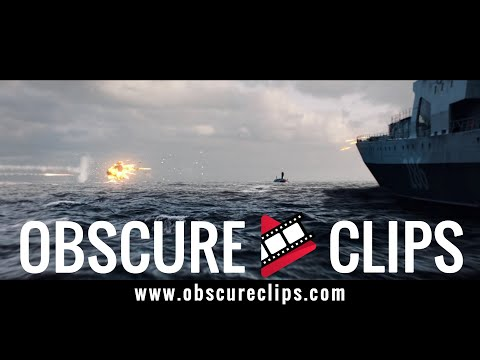 Russian Destroyer Saves US Sub   Hunter Killer (2018)