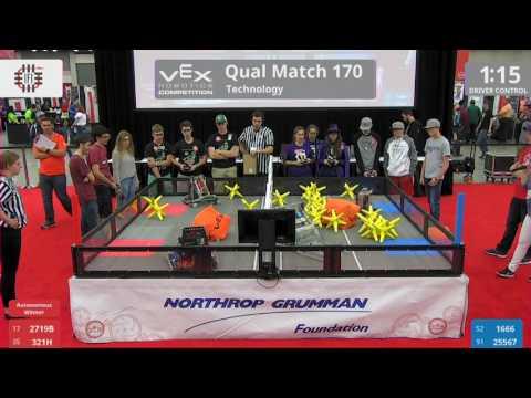 2017 VRC Tech Q170 - 2719B 321H vs 1666 25567 - 41 to 1