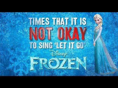 sing - Inappropriate movie moments to start belting out your new favorite Disney tune! So yes, mild spoilers. I do not own this song in any way, property of Disney ...
