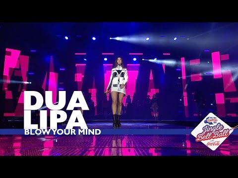 Dua Lipa - 'Blow Your Mind' (Live At Capital's Jingle Bell Ball 2016)