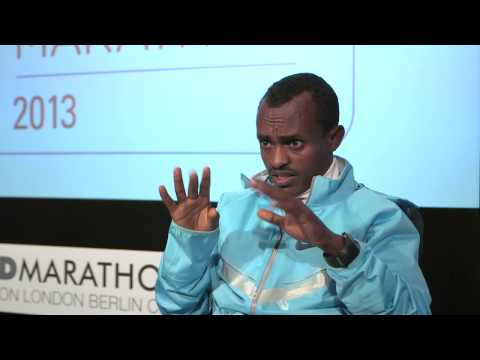 Tsegaye Kebede - 'The London Marathon has changed my life,' says Tsegaye Kebede 2013 Virgin London Marathon champion.