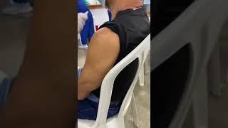 Denuncian «simulacro» de vacuna Covid-19 sin líquido en Barranquilla