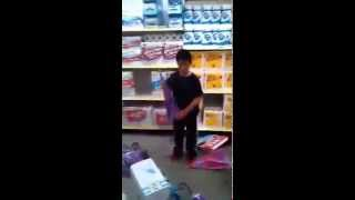 Kid Destroys Dollar Store