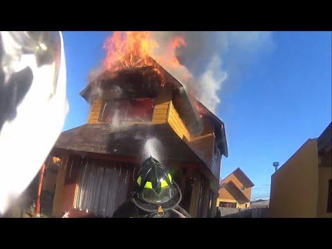 incendio peñaflor - 10-0 - chile
