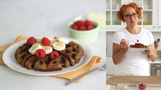 Peanut Butter Banana Waffles- Everyday Food with Sarah Carey by Everyday Food