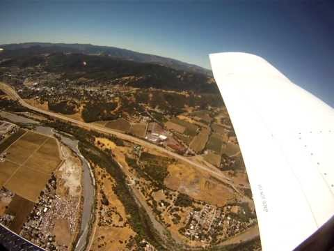 Go-Pro Camera Falls From an Airplane and Lands in Pig Pen. Awesome video