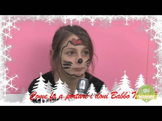 Parole di bimbi: come porta i doni Babbo Natale?