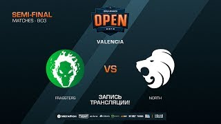 Fragsters vs North - DreamHack Open Valencia 2018 - map1 - de_train [SSW, Anishared]
