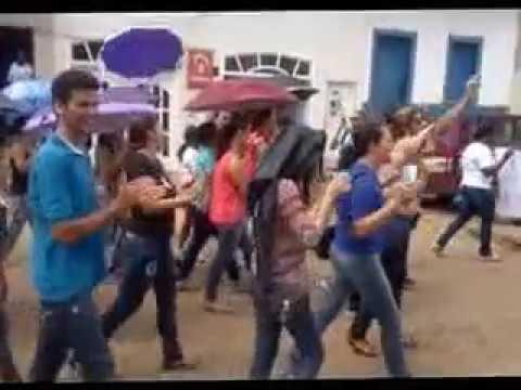 Em Chapada do Norte MG povo vai á rua protestar contra a Reforma da Previdência