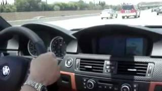 2009 BMW M3 Test Drive Paddle Shifting Fast Acceleration