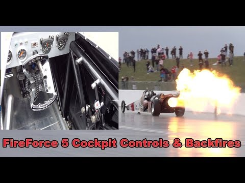The FireForce 5 Jet Car was in...