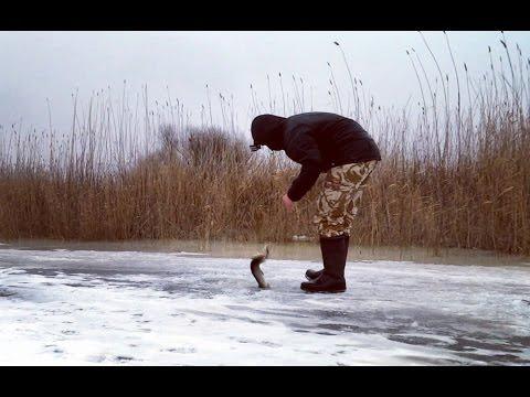 видео-зимняя уральская рыбалка
