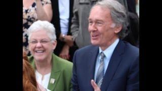Senator Markey&EPA Administrator Gina McCarthy Discuss Climate Change