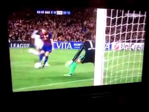 Barcelona vs Chelsea 2-2 All Goals and Full Match Highlights 24/4/2012