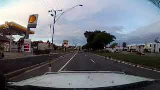 Rockhampton Australia  city photo : Overtaking turning Semi-trailer on inside. Rockhampton, QLD, Australia.
