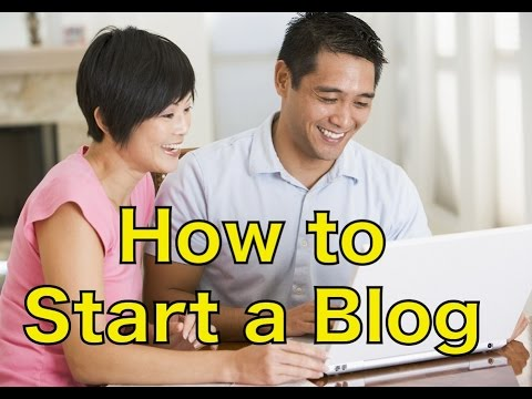 FAST and EASY!!! How to Start a Blog and Make Money eventually