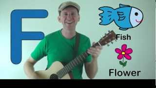 The Letter F song for Kids