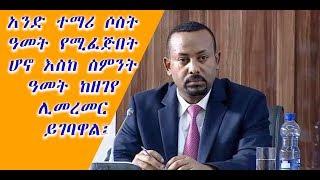 The latest Amharic News Febr  01, 2019