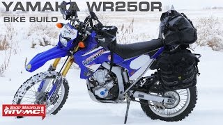 8. Yamaha WR250R ADV/Dual Sport Bike Build