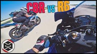 7. Yamaha R6 vs Honda CBR600RR