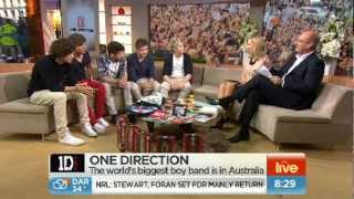One Direction: Sunrise Full Interview (HQ)