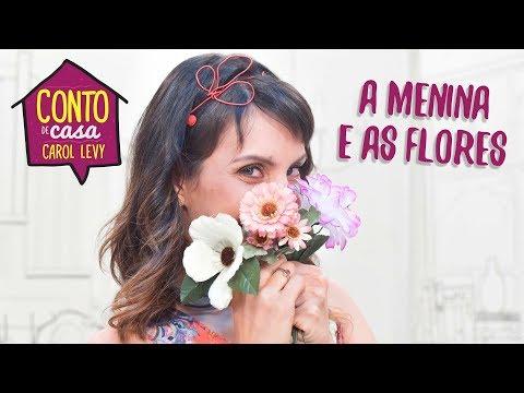 A Menina e as Flores