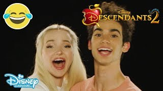 Descendants 2 | Who Said That? ft. Dove Cameron and Cameron Boyce | Official Disney Channel UK