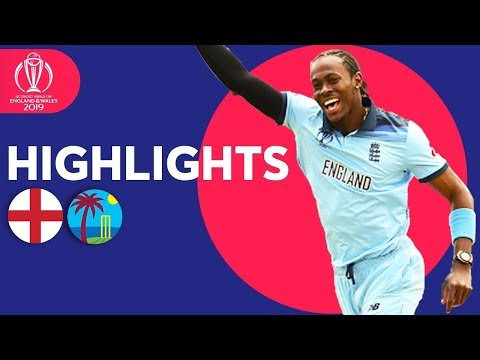 Root & Archer On Song | England vs West Indies - Match Highlights | ICC Cricket World Cup 2019