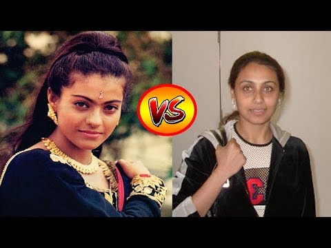 Kajol VS Rani Mukerji Transformation From 1 To 40 Years Old