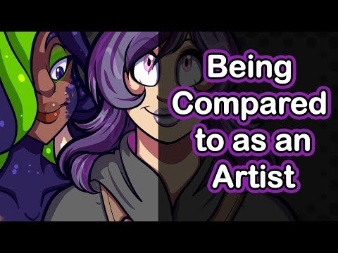 Being Compared to Others as an Artist   Art Rambles
