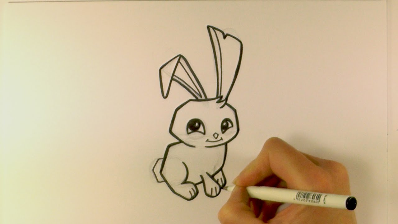 How To Draw A Cartoon Bunny Step By Step Hd Images And Wallpaper How To Draw