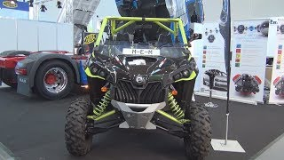 6. Can-Am Maverick X DS 1000R Turbo (2018) Exterior and Interior