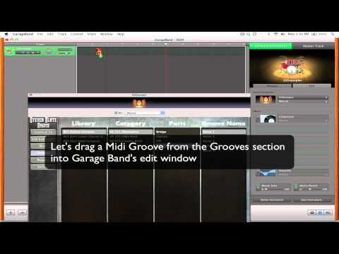SSD4 – Loading the SSD Sampler Tutorial – Garageband