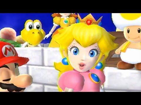 Mario Party 9 Daisy Vs Peach Bowser Station Hot Videos 2018