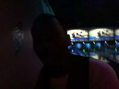 Jason Derulo Bowling with winners From power106